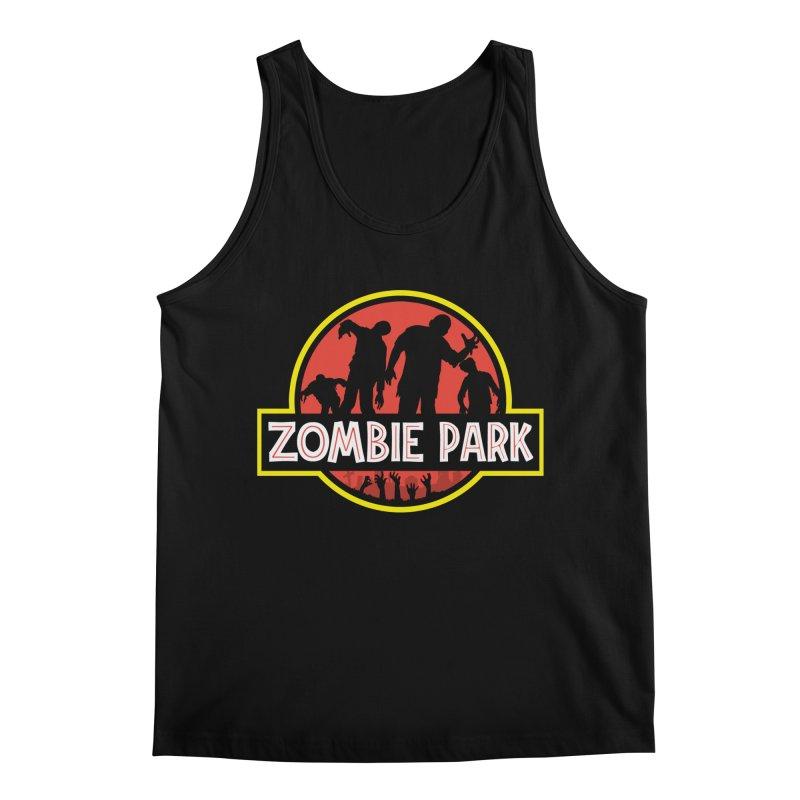Zombie Park Men's Regular Tank by clingcling's Artist Shop