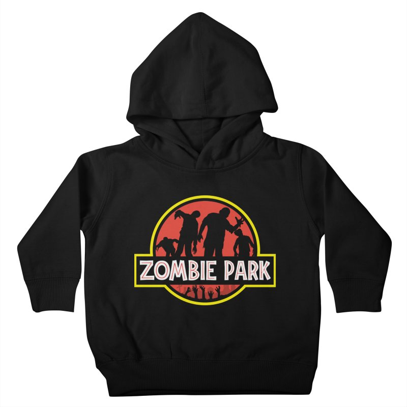 Zombie Park Kids Toddler Pullover Hoody by clingcling's artist shop