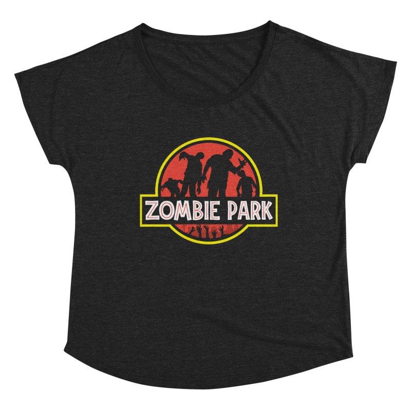 Zombie Park Women's Dolman Scoop Neck by clingcling's artist shop