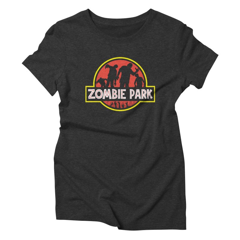 Zombie Park Women's Triblend T-Shirt by clingcling's Artist Shop