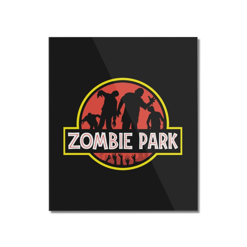 Zombie Park Home Mounted Acrylic Print by clingcling's Artist Shop