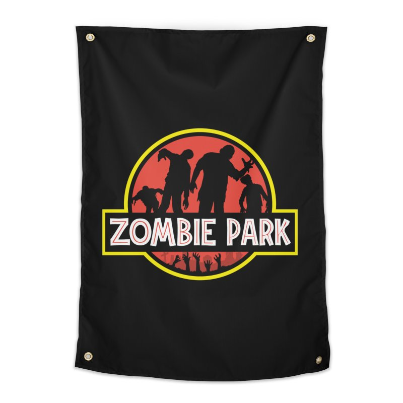 Zombie Park Home Tapestry by clingcling's Artist Shop