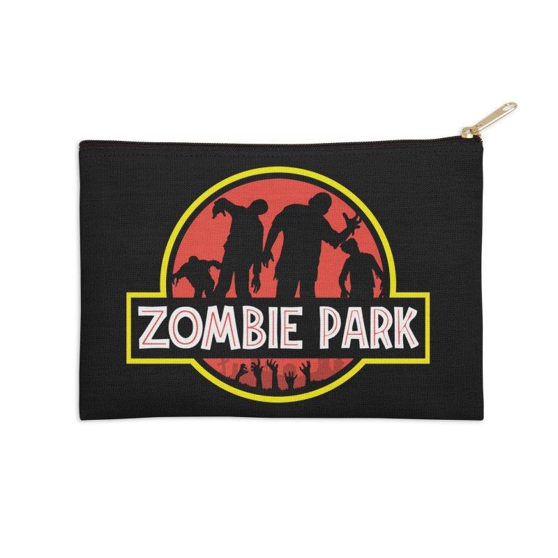 Zombie Park Accessories Zip Pouch by clingcling's Artist Shop