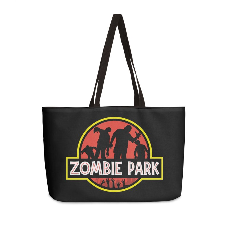 Zombie Park Accessories Weekender Bag Bag by clingcling's Artist Shop