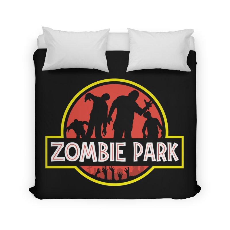 Zombie Park Home Duvet by clingcling's Artist Shop