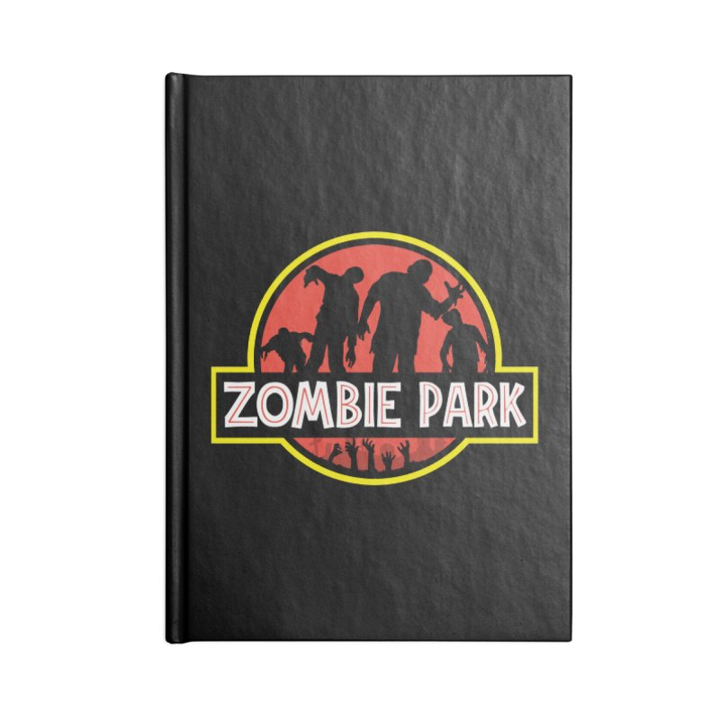 Zombie Park Accessories Lined Journal Notebook by clingcling's Artist Shop