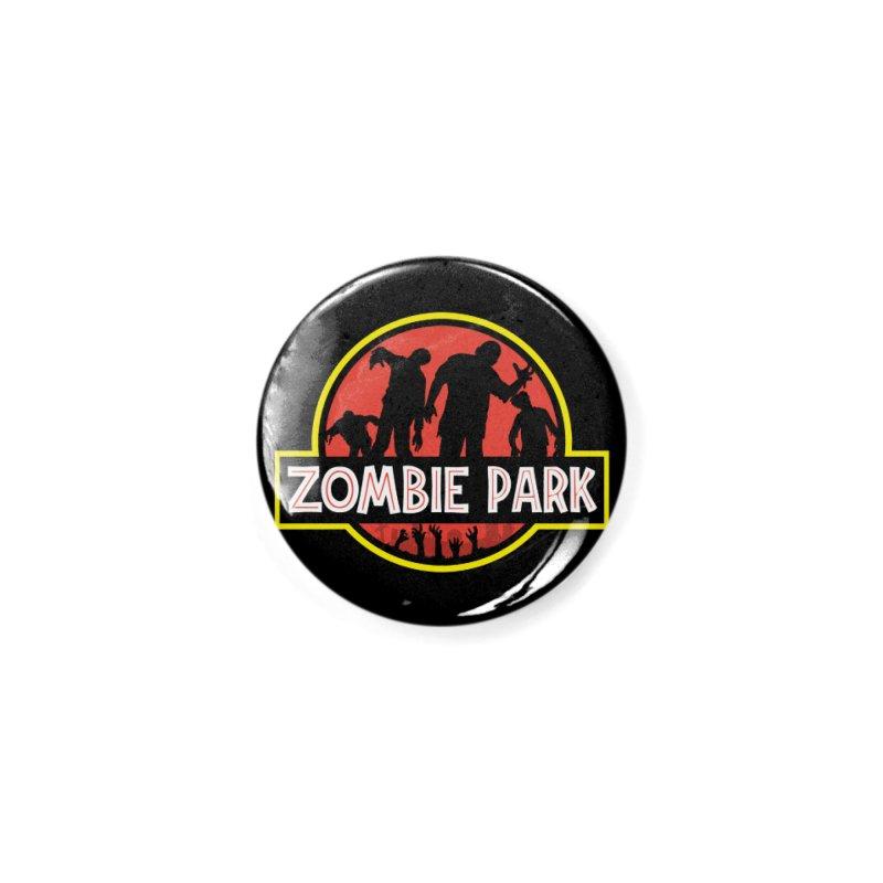 Zombie Park Accessories Button by clingcling's Artist Shop