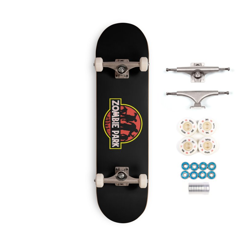 Zombie Park Accessories Complete - Premium Skateboard by clingcling's Artist Shop