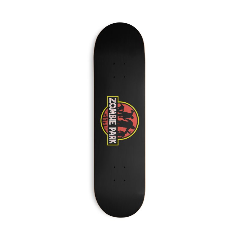 Zombie Park Accessories Deck Only Skateboard by clingcling's Artist Shop