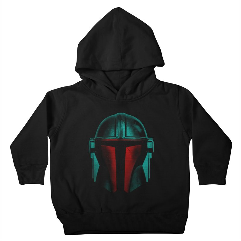 mandalorian soldier Kids Toddler Pullover Hoody by clingcling's artist shop