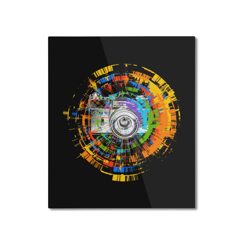 Capture the colors Home Mounted Aluminum Print by clingcling's artist shop