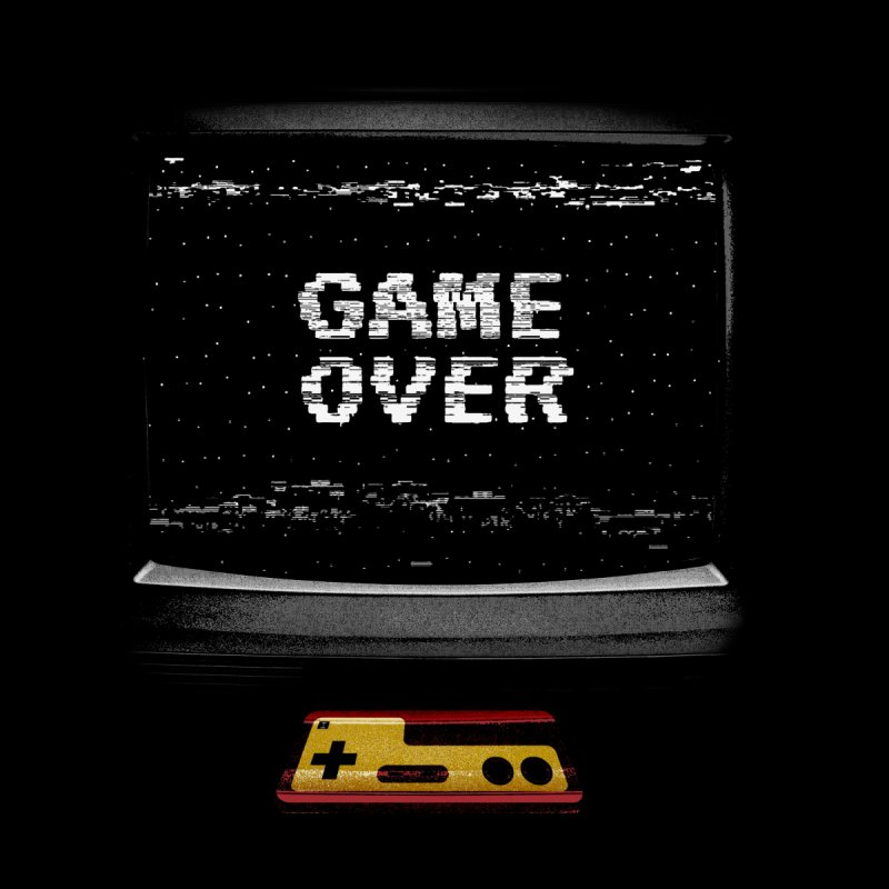 Game over Accessories Face Mask by clingcling's artist shop