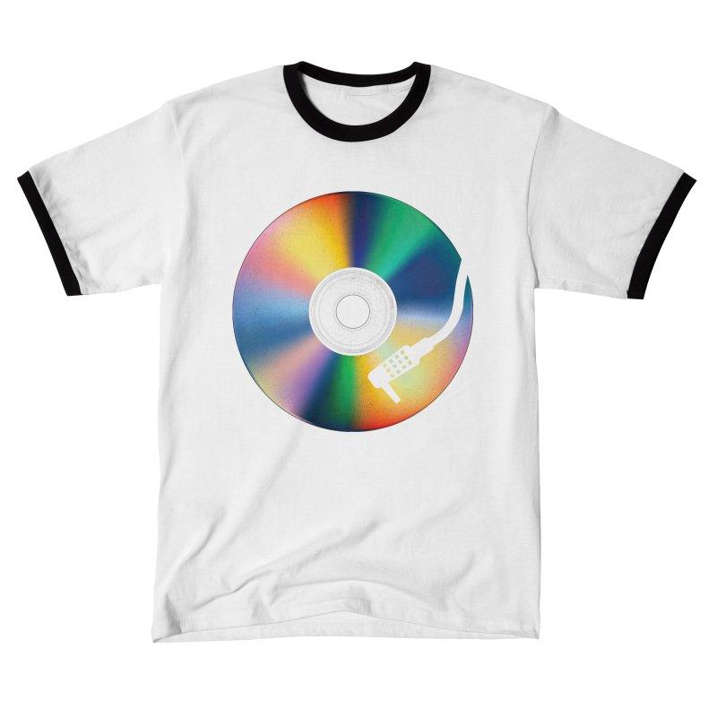 Music Disc Women's T-Shirt by clingcling's artist shop
