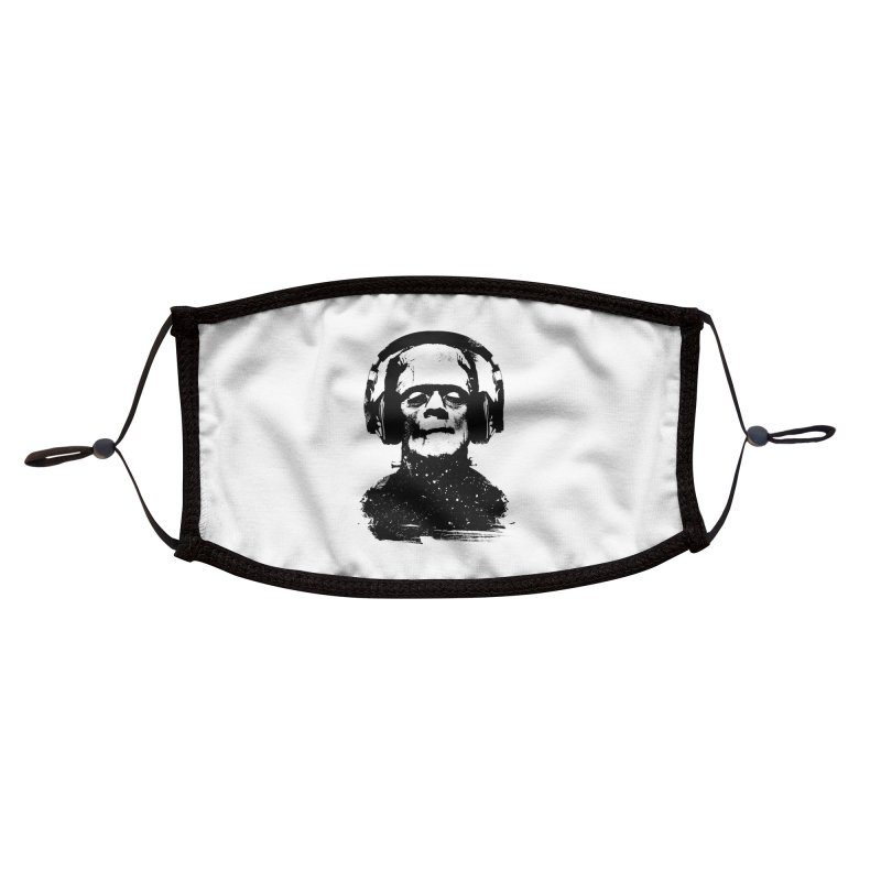 Music makes me alive Accessories Face Mask by clingcling's artist shop