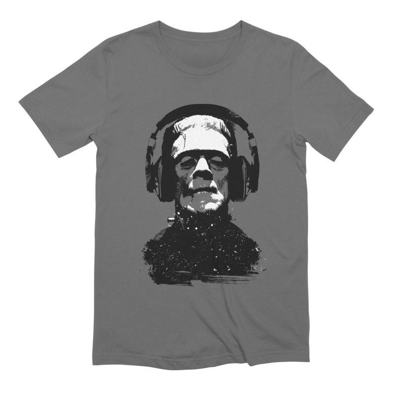 Music makes me alive Men's T-Shirt by clingcling's artist shop