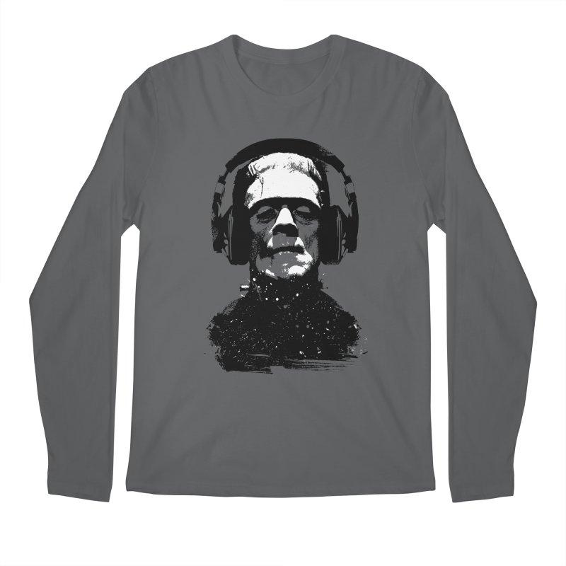 Music makes me alive Men's Longsleeve T-Shirt by clingcling's artist shop