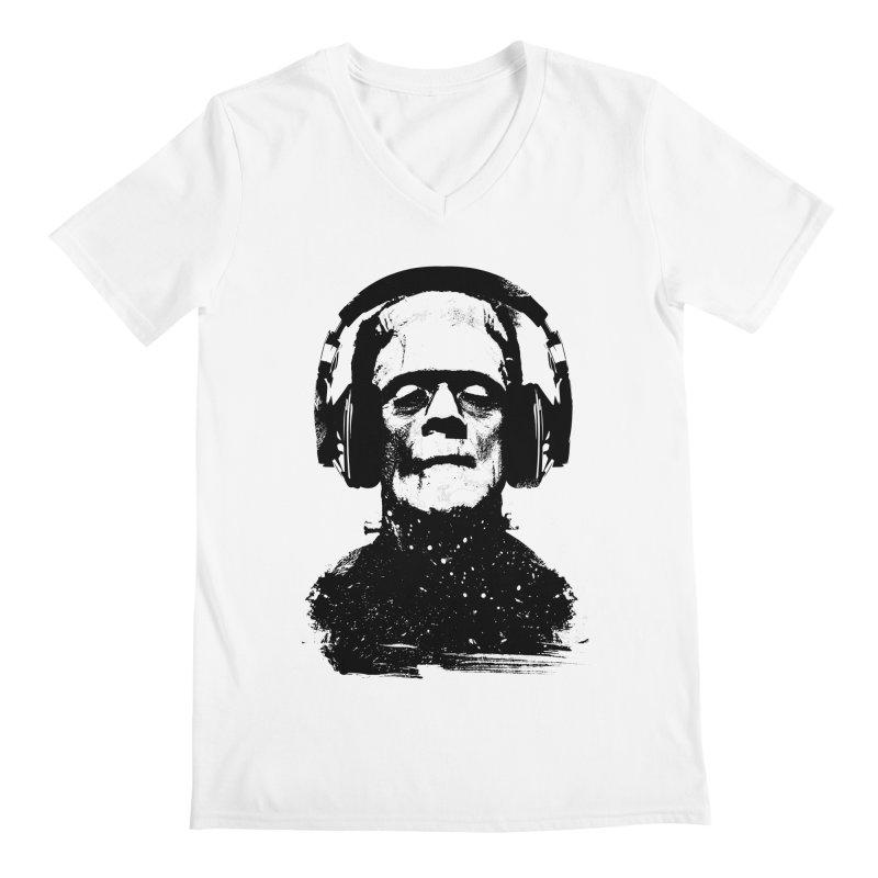 Music makes me alive Men's V-Neck by clingcling's artist shop