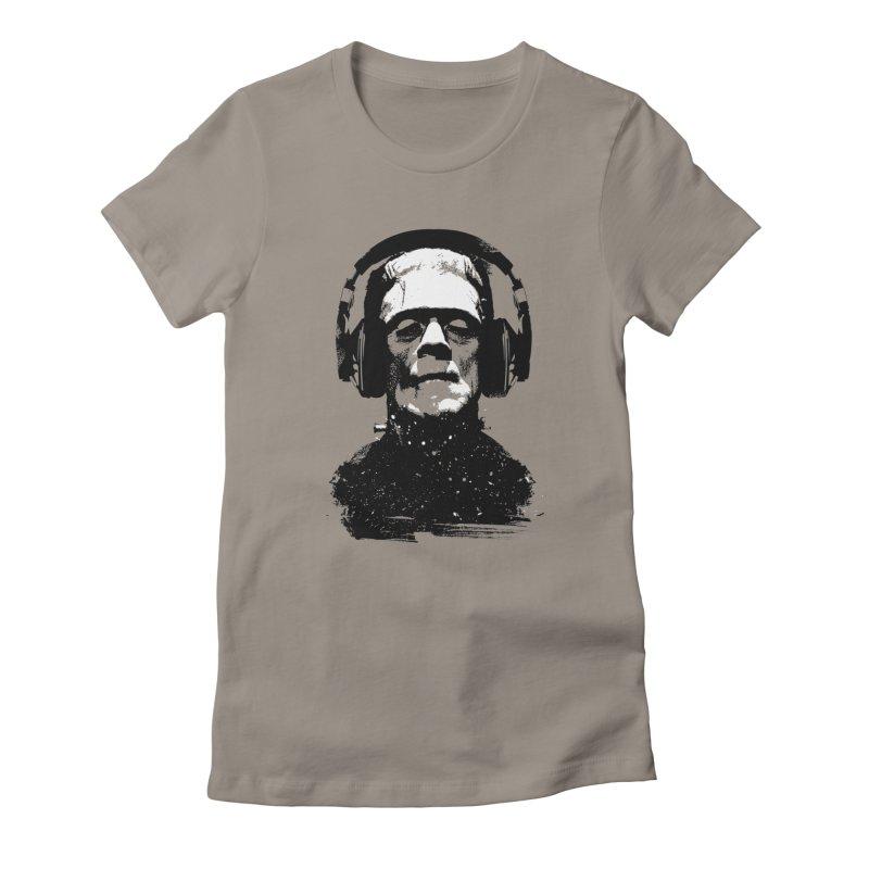 Music makes me alive Women's T-Shirt by clingcling's artist shop
