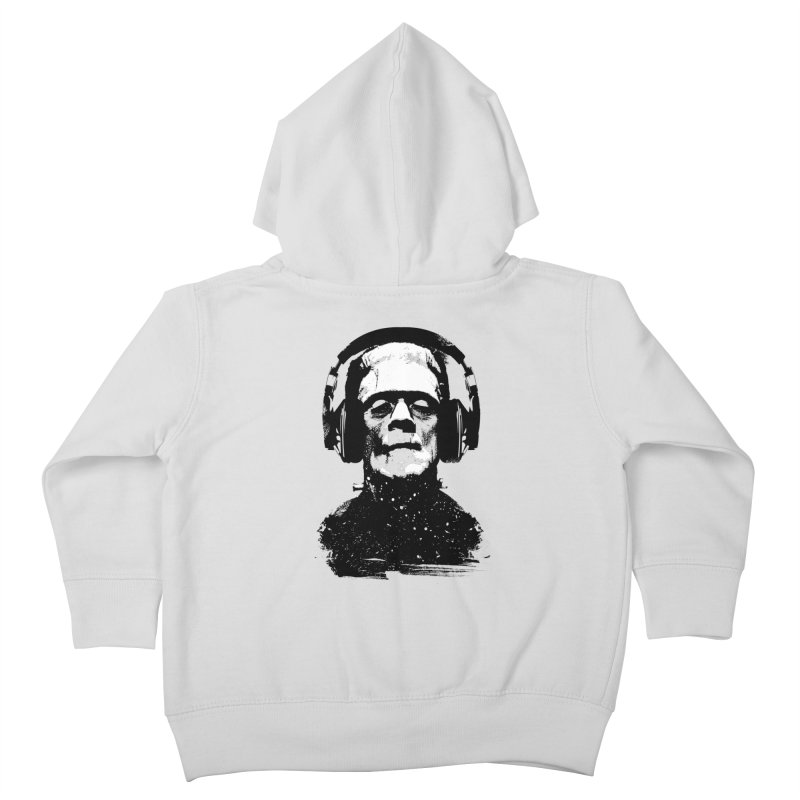 Music makes me alive Kids Toddler Zip-Up Hoody by clingcling's artist shop