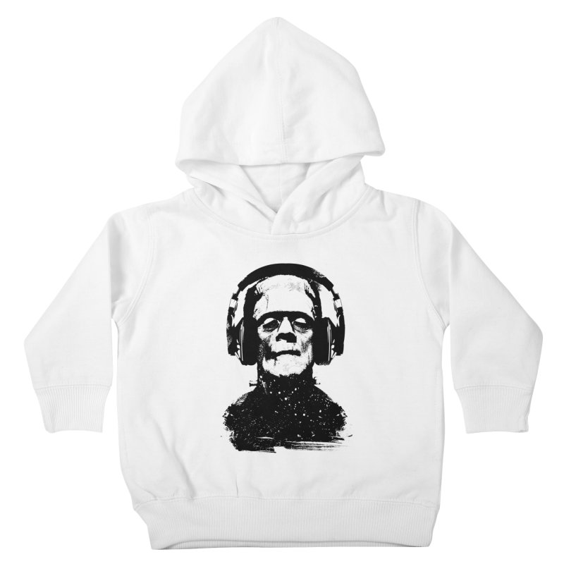Music makes me alive Kids Toddler Pullover Hoody by clingcling's artist shop