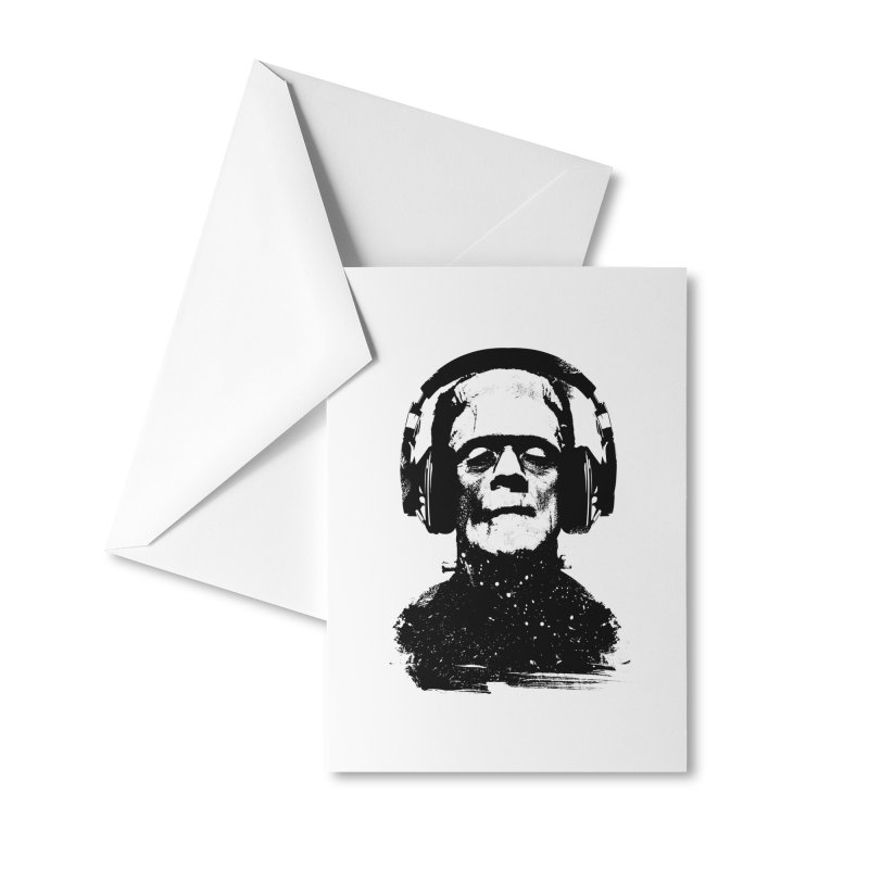 Music makes me alive Accessories Greeting Card by clingcling's artist shop