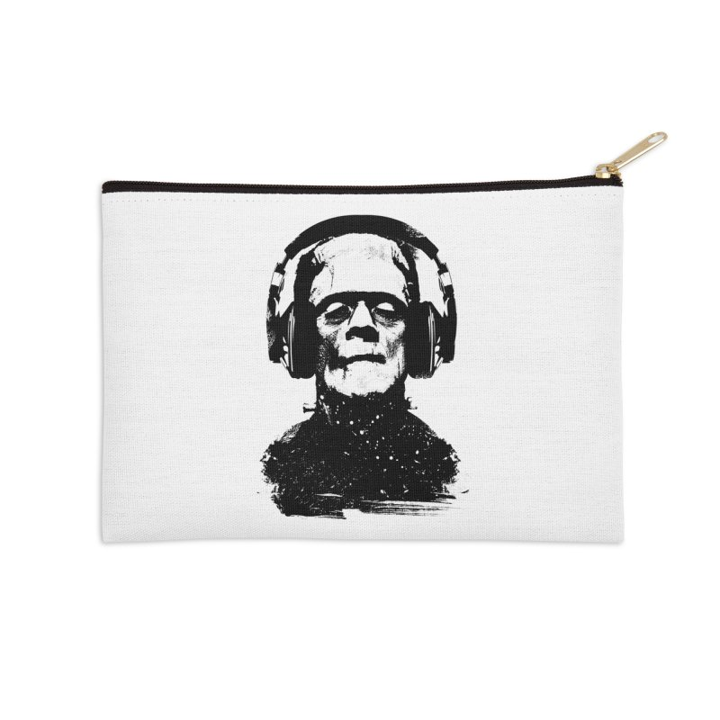 Music makes me alive Accessories Zip Pouch by clingcling's artist shop