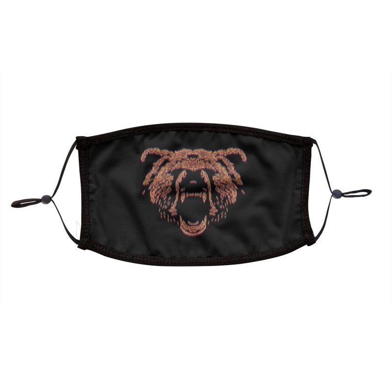 Abstract Bear Accessories Face Mask by clingcling's artist shop