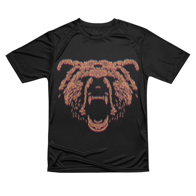 Abstract Bear Men's T-Shirt by clingcling's artist shop