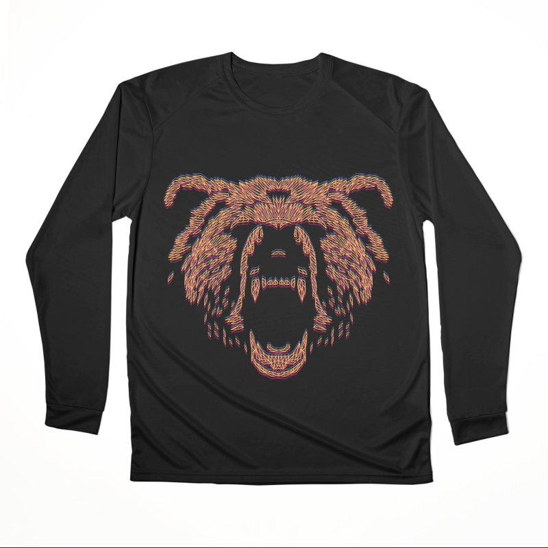 Abstract Bear Men's Longsleeve T-Shirt by clingcling's artist shop