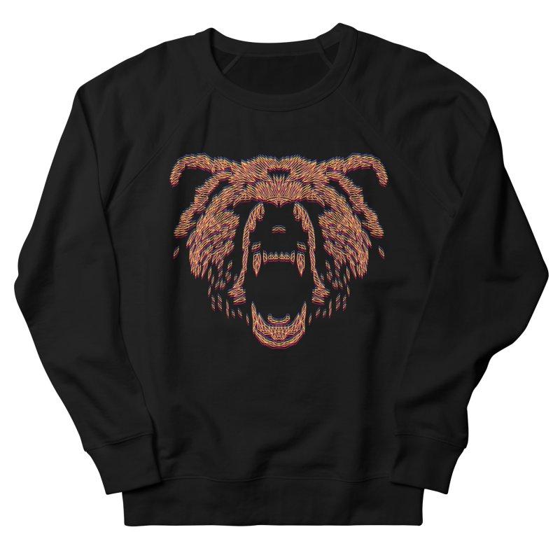 Abstract Bear Men's Sweatshirt by clingcling's artist shop