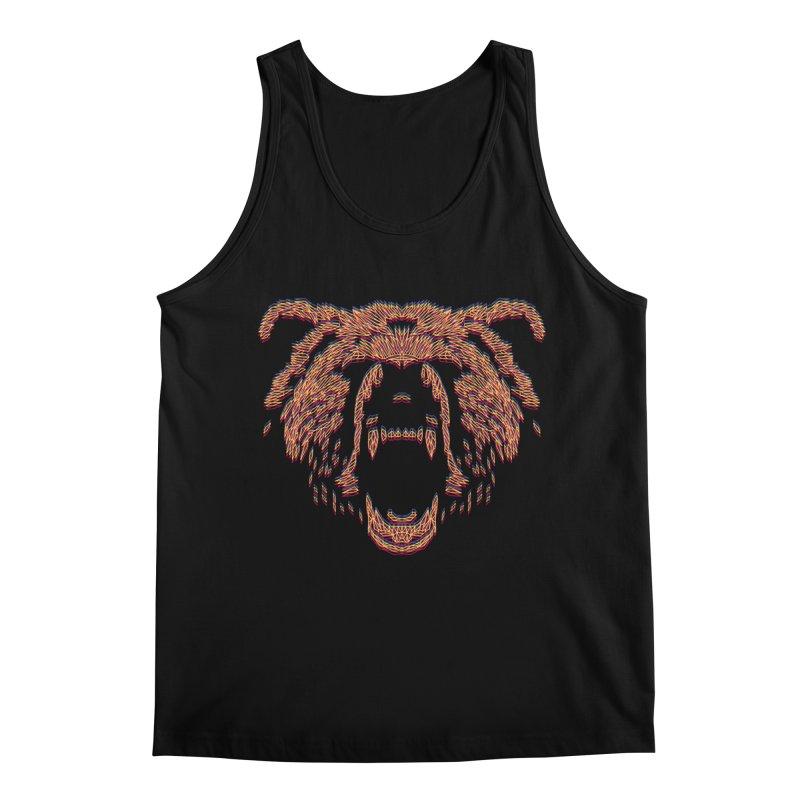 Abstract Bear Men's Tank by clingcling's artist shop