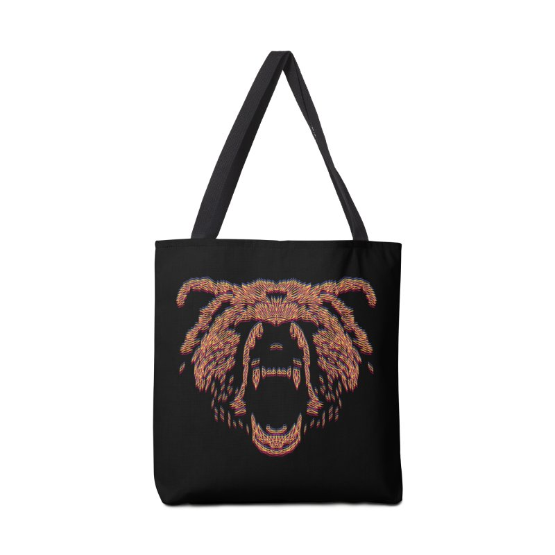 Abstract Bear Accessories Bag by clingcling's artist shop