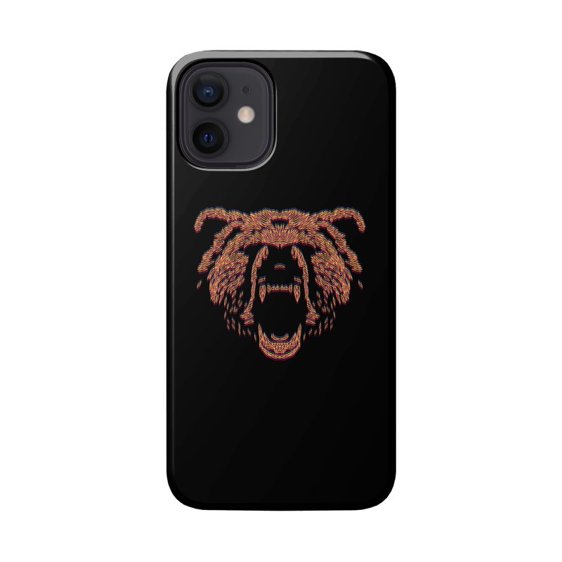 Abstract Bear Accessories Phone Case by clingcling's artist shop