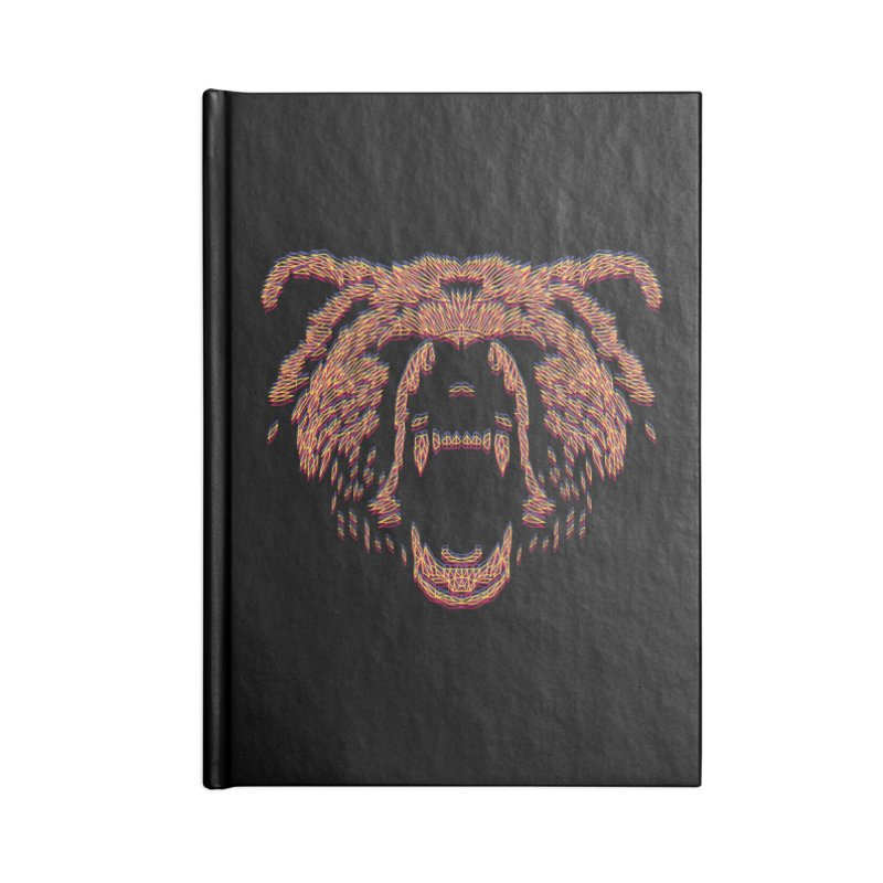 Abstract Bear Accessories Notebook by clingcling's artist shop