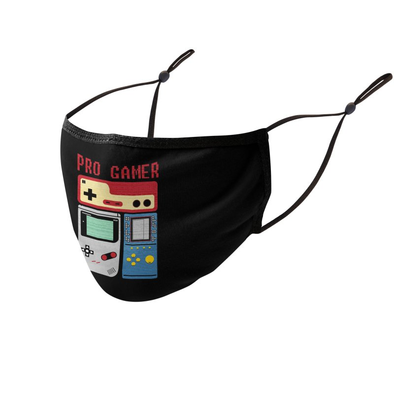 Pro Gamer Accessories Face Mask by clingcling's artist shop