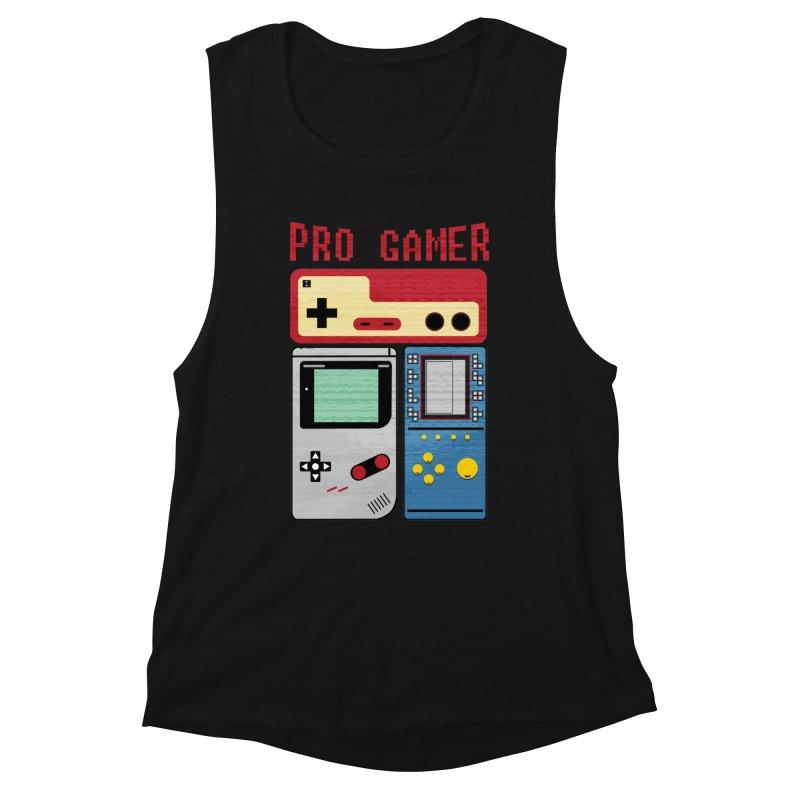 Pro Gamer Women's Tank by clingcling's artist shop