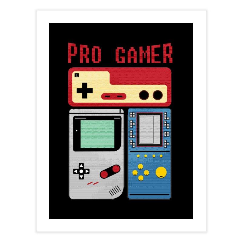 Pro Gamer Home Fine Art Print by clingcling's artist shop