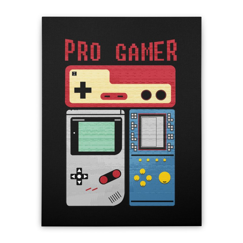 Pro Gamer Home Stretched Canvas by clingcling's artist shop