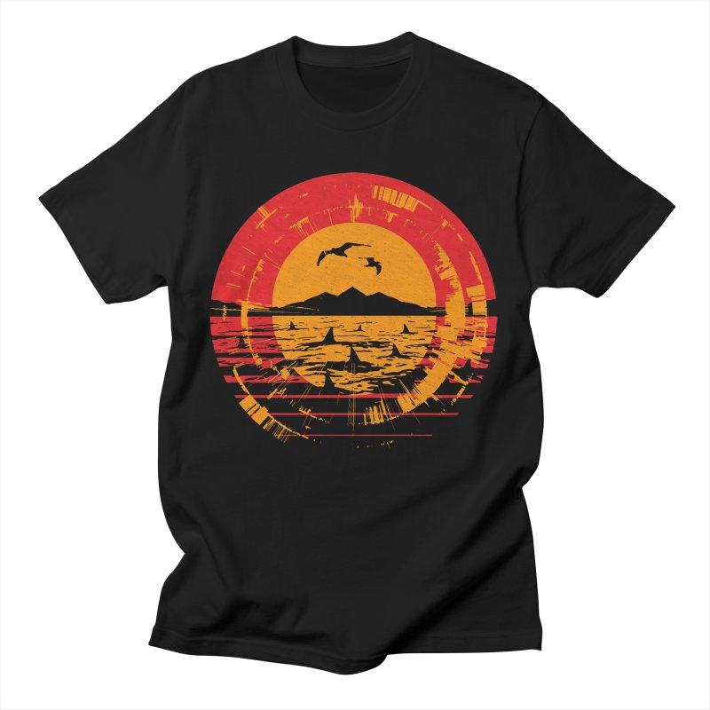 Shark Island Men's T-Shirt by clingcling's artist shop