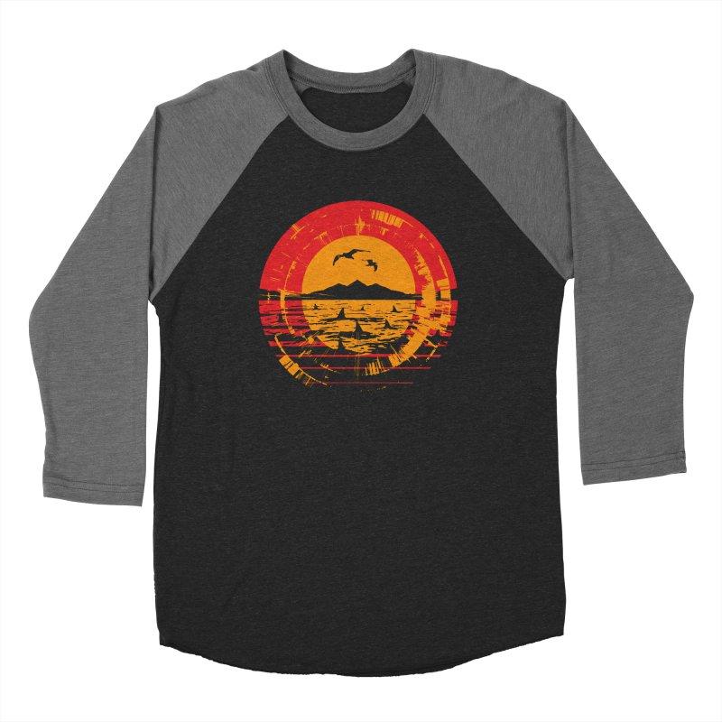 Shark Island Women's Longsleeve T-Shirt by clingcling's artist shop