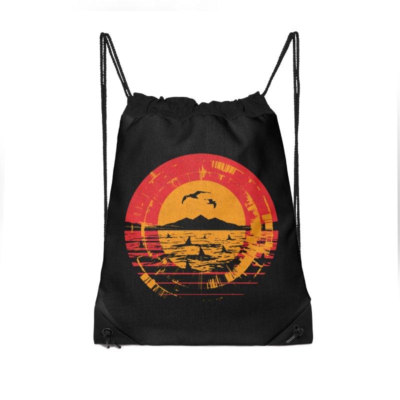 Shark Island Accessories Bag by clingcling's artist shop