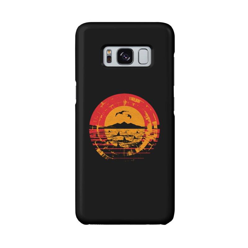 Shark Island Accessories Phone Case by clingcling's artist shop
