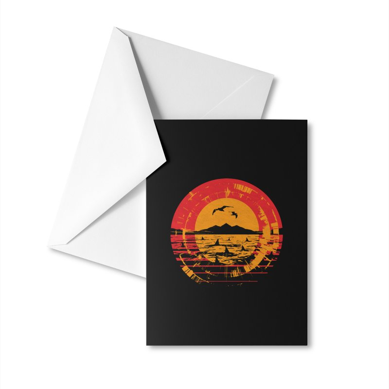 Shark Island Accessories Greeting Card by clingcling's artist shop