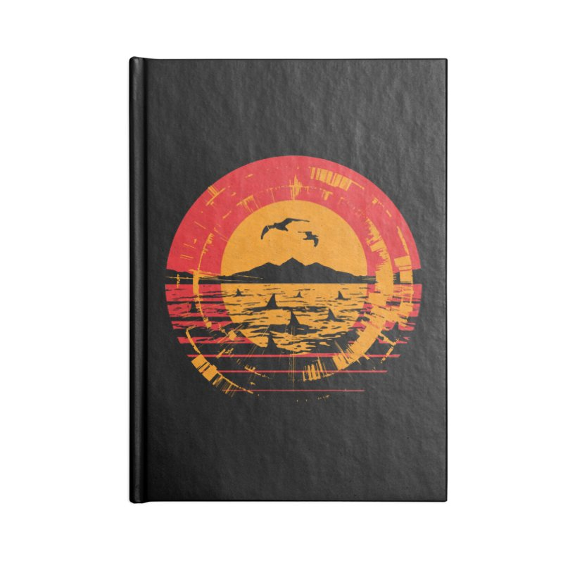 Shark Island Accessories Notebook by clingcling's artist shop