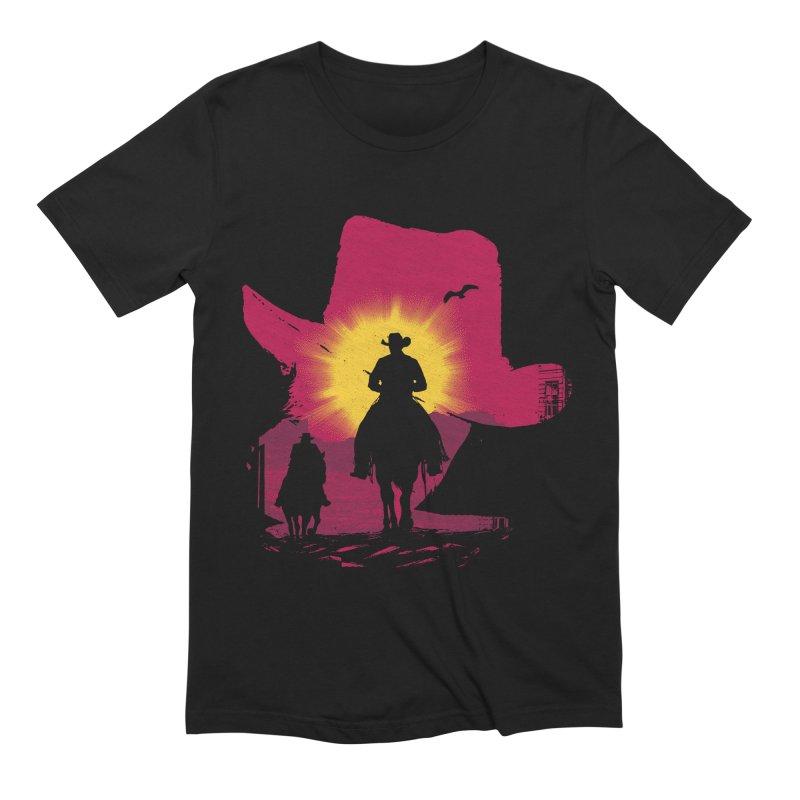 Sunset Rider Men's T-Shirt by clingcling's artist shop