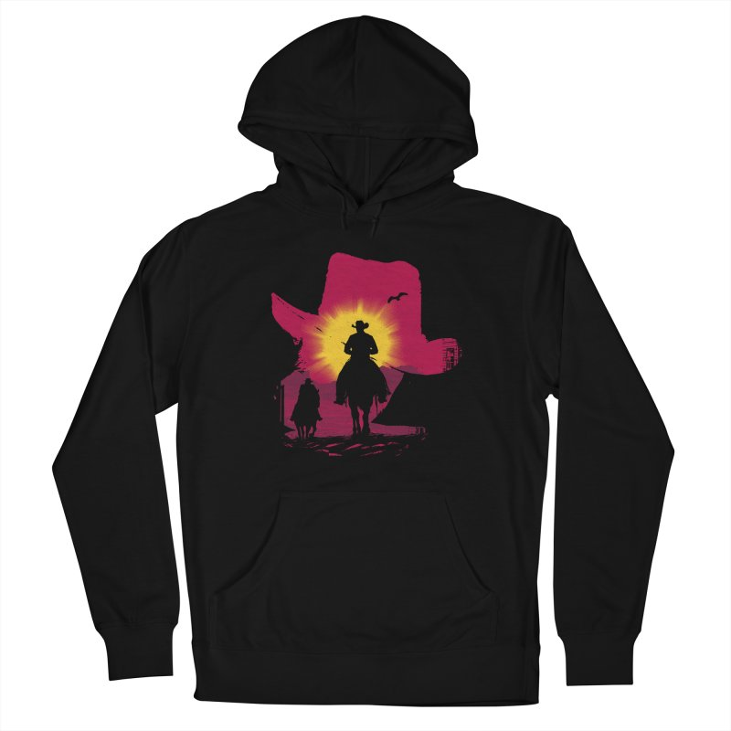 Sunset Rider Men's Pullover Hoody by clingcling's artist shop