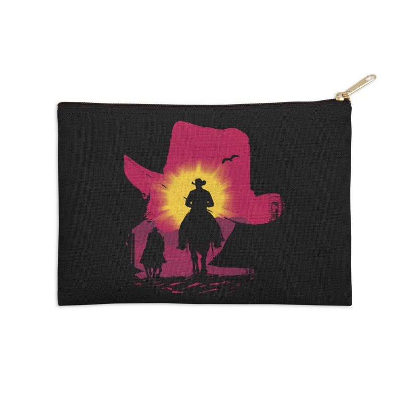 Sunset Rider Accessories Zip Pouch by clingcling's artist shop