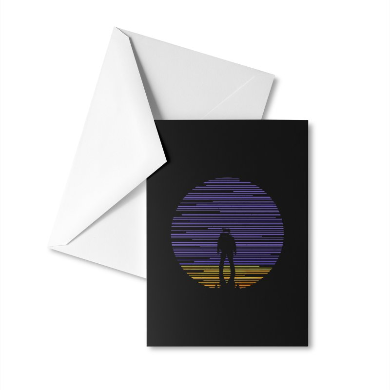 The mission Accessories Greeting Card by clingcling's artist shop