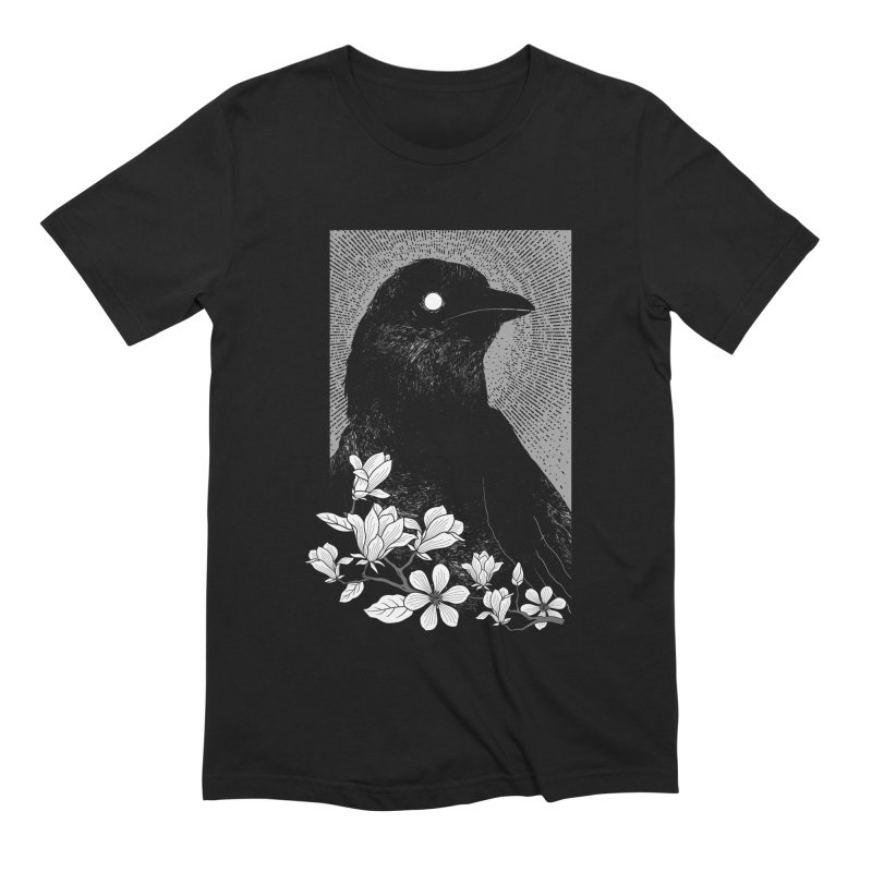 The Raven Men's T-Shirt by clingcling's artist shop