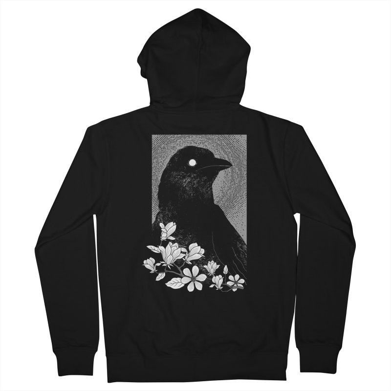 The Raven Women's Zip-Up Hoody by clingcling's artist shop